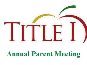 Annual Title 1 Meeting 2020-2021