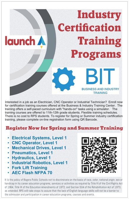 Trade & Industry Training Programs