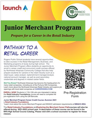 Junior Merchant Program Flyer
